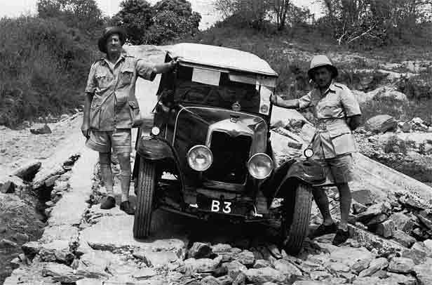 ''Galton Fenzi & Capt. Gethin made the first car journey from Nairobi to Mombasa in 1926''