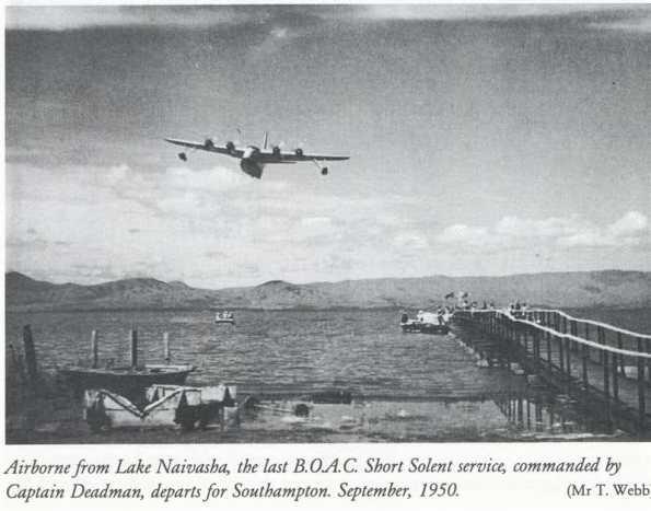 Historic Mombasa - East African Airways